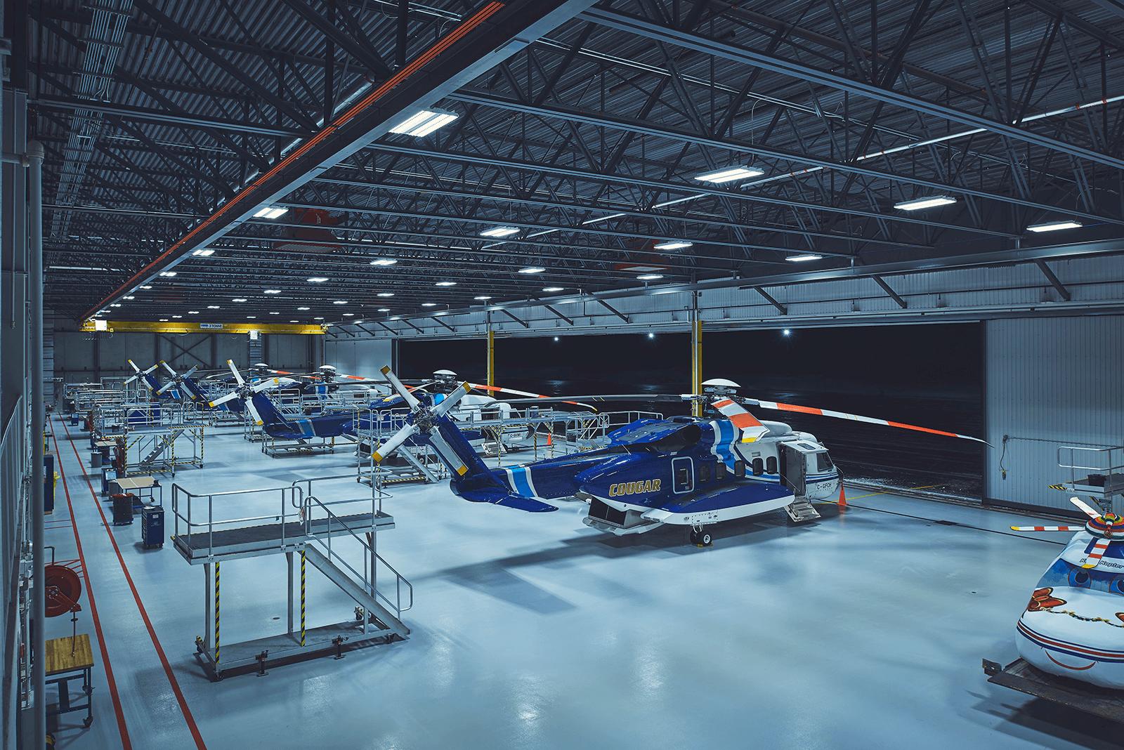 Project - Cougar PAX Hangar & Terminal 3