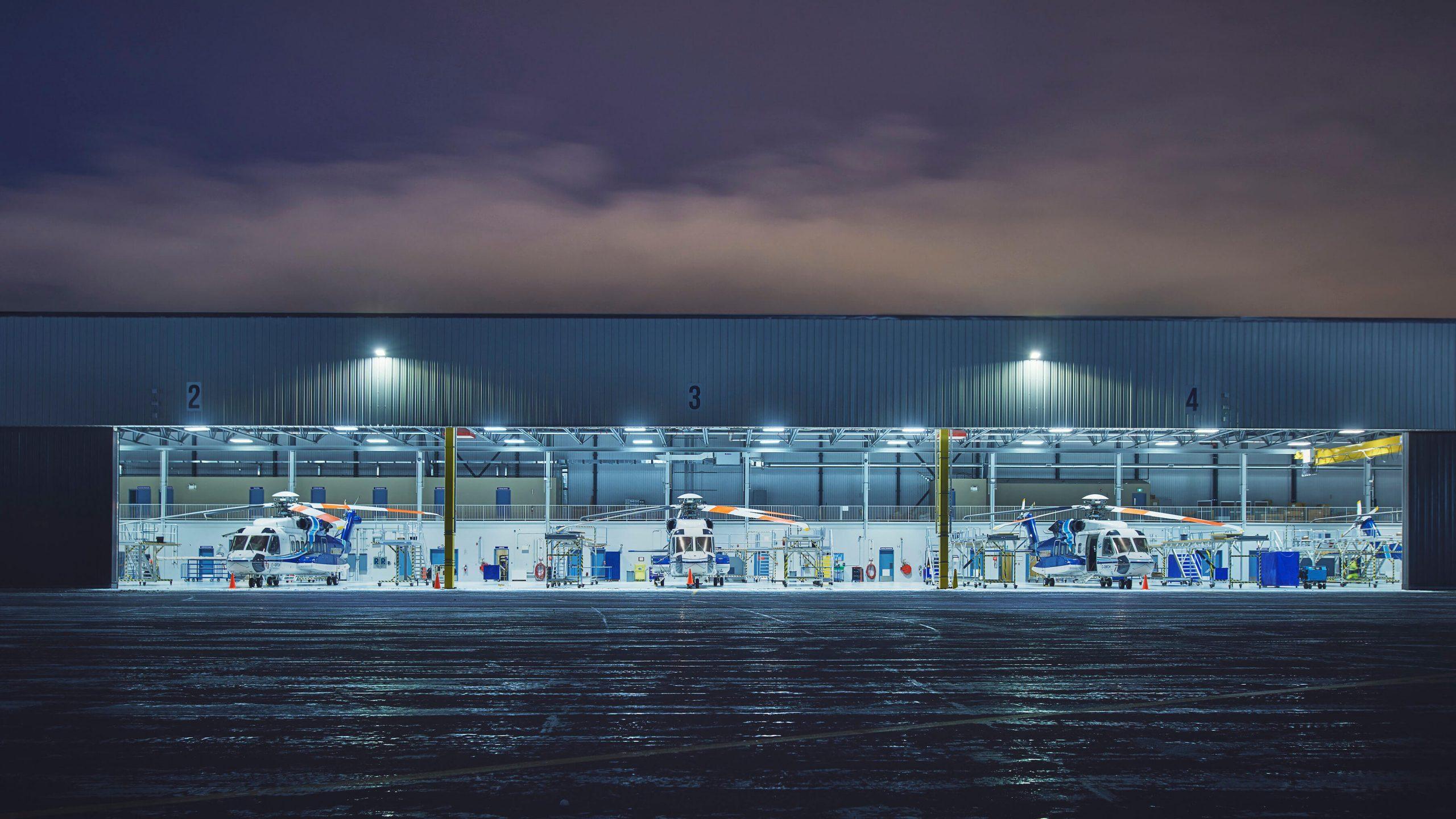Project - Cougar PAX Hangar & Terminal 2